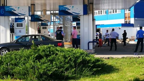 В Серпухове на АЗС при взрыве погибли три человека