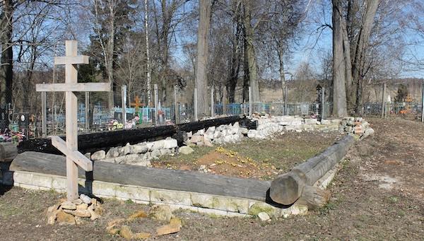 Как восстанавливают сгоревший храм в Васильевском?