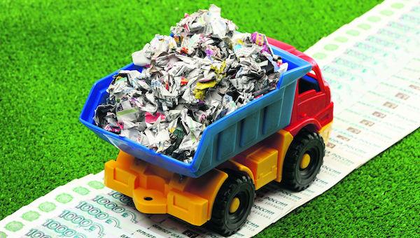 Некоторые серпуховичи наотрез отказываются платить за вывоз отходов