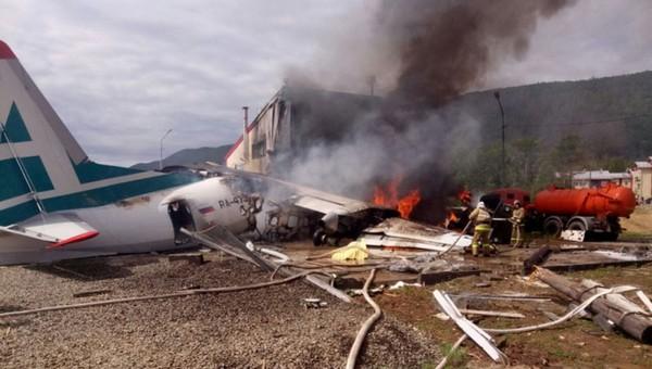 Еще один российский самолет попал в авиакатастрофу
