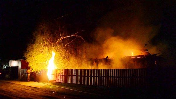 Сегодня утром пять человек погибли на пожаре в Подмосковье
