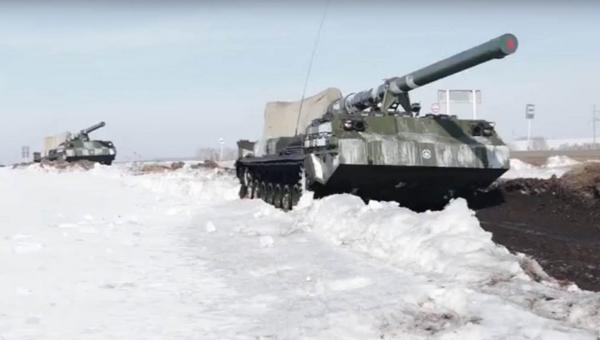 В России испытали артиллерийскую установку особой мощности
