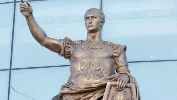Россияне нашли у статуи римского императора сходство с Путиным
