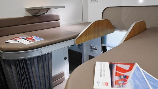 Компания РЖД представила новую концепцию плацкартного вагона