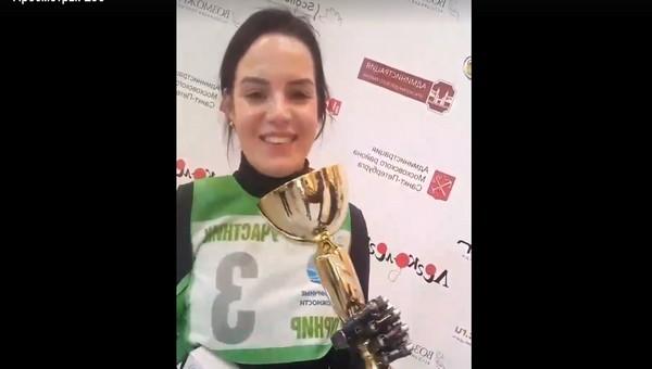 Маргарита Грачева завоевала золотой кубок в соревнованиях «киборгов»