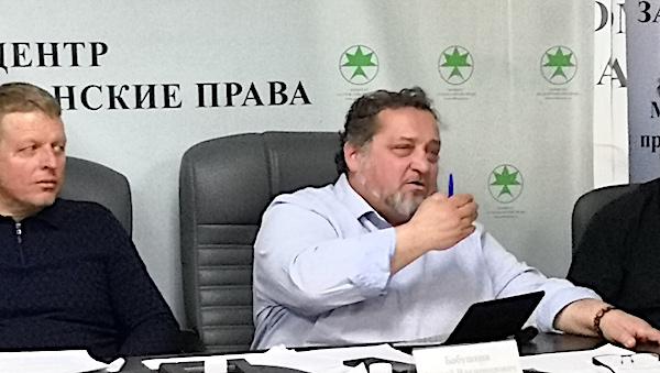 Андрей Бабушкин: «Красногорский суд изобрел два ноу-хау»