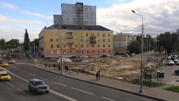 В Серпухове на ночь перекроют Привокзальную площадь