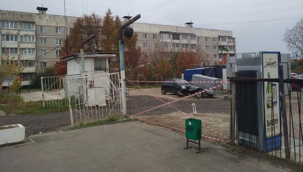 В Ивановских двориках в Серпухове снесли «историческую» палатку