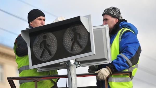 До конца года в Серпухове установят еще 22 светофора