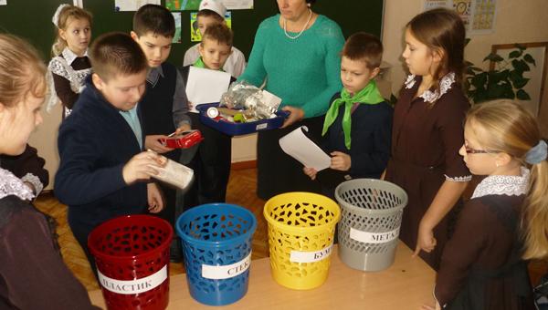 В школах пройдут «мусорные уроки»