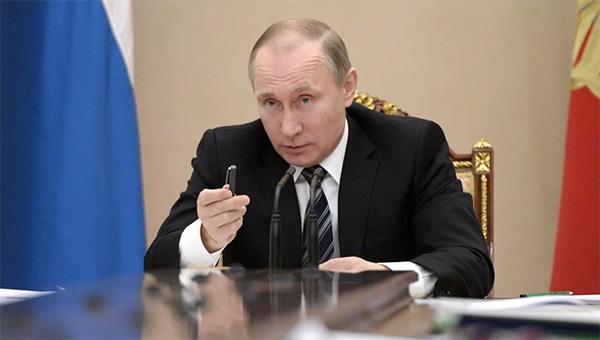 Список поручений президента Владимира Путина