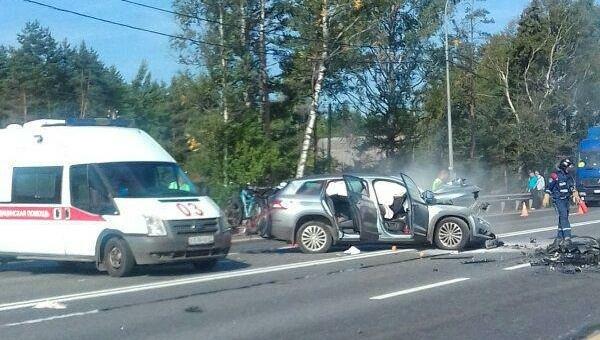 В автокатастрофе на трассе «Крым» погиб человек