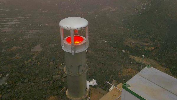 Новый адский факел поставят на самой вершине полигона «Лесная».