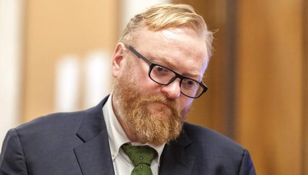 Отметелили депутата Госдумы Милонова
