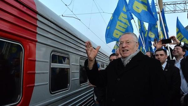 Владимир Жириновский посетит Заокский и Ясногорск