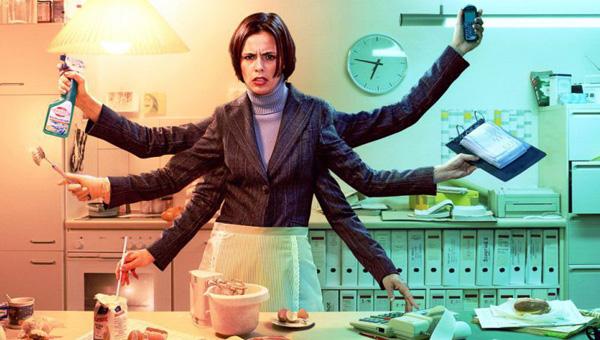 Image result for женщина много работает