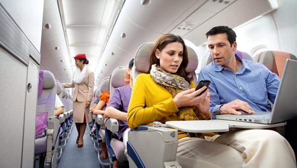 В самолет – с гаджетом в руке