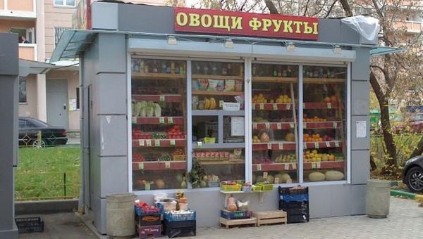 Овощной ларек взлетел на воздух в Подольске