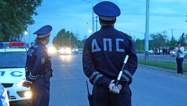 В Протвино сбили сразу двух полицейских