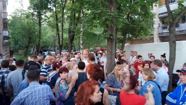 Жители Подмосковья вышли на улицы и требуют отставки главы