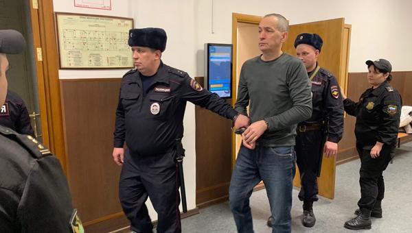 Онлайн-трансляция из зала суда по апелляции на продление ареста Александру Шестуну
