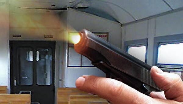 В подмосковной электричке мужчина обстрелял подростков из травмата