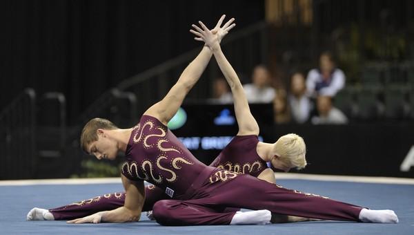 Мужчины впервые выступят на чемпионате по художественной гимнастике