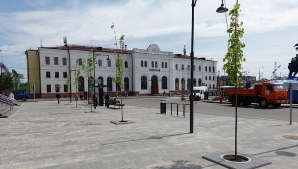 Серпуховичи гадают, куда пропали все деревья с реконструированной Привокзальной площади