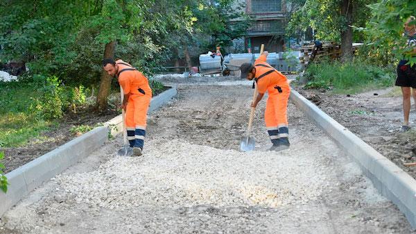 В Серпухове открывается сезон ремонта дворов