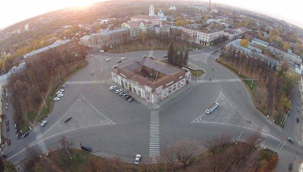 Фасады домов в Серпухове будут зажигать целыми кварталами