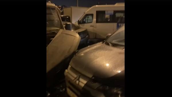 Самая большая в этом году массовая авария произошла в Подмосковье