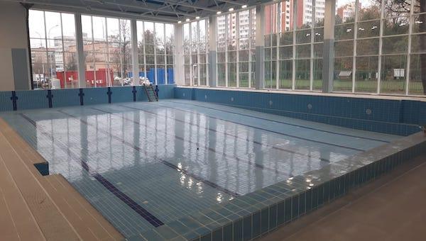 Новый бассейн в Серпухове готов на 99%