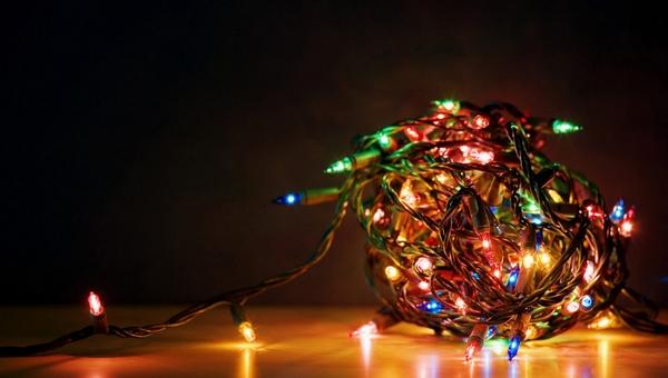 Необычная вакансия: в Подмосковье ищут помощника по распутыванию новогодних гирлянд