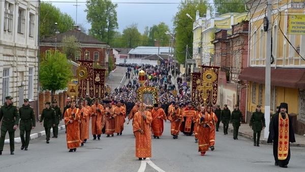 В Серпухове впервые за долгое время не состоится Крестный ход