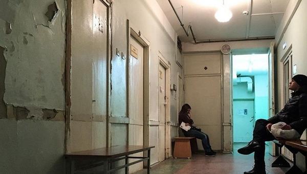 В трети российских больниц нет водопровода