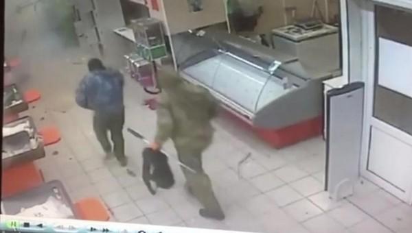 В Серпухове взорвали банкомат