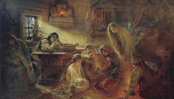 «Раз в крещенский вечерок»: как гадали на Руси