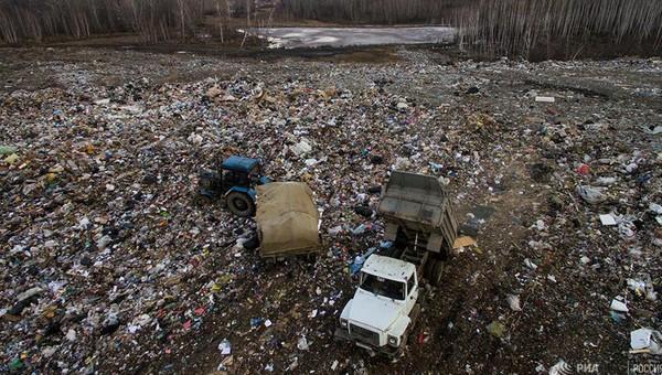К концу года в Подмосковье останется только один мусорный полигон