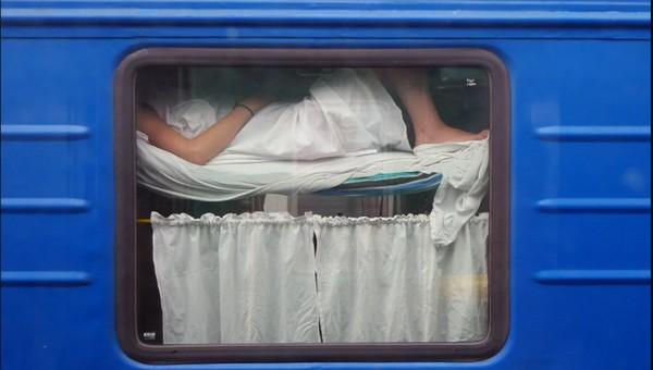 Что россияне любят делать во время путешествия в поезде