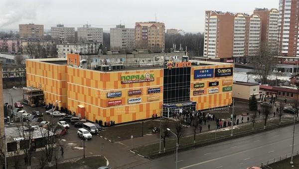 В Серпухове над одним из крупных ТЦ нависла угроза взрыва