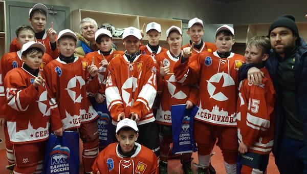 Прогресс серпуховских хоккеистов