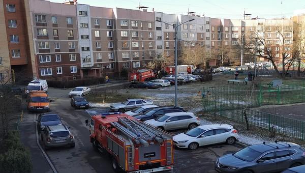Пожилая женщина погибла во время пожара в Серпухове