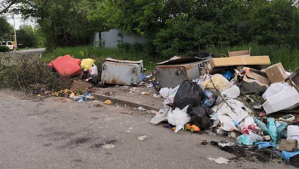 Компания «МСК-НТ» вновь не вывозит мусор из Серпухова