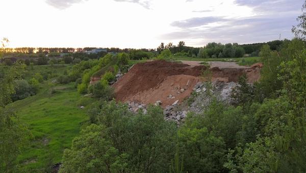 Под Серпуховом консервируют памятник, появившийся до эпохи динозавров