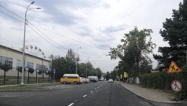 На улице Фирсова в Серпухове открыли двустороннее движение