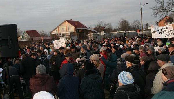 В Серпухове намечается очередной митинг за закрытие полигона