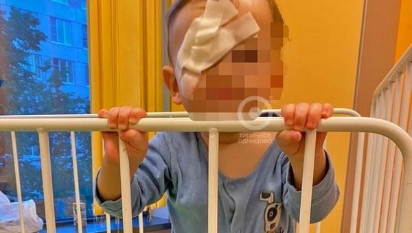 Младенец получил химические ожоги, сидя в коляске в супермаркете