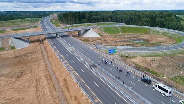 Центральная кольцевая дорога будет запущена совсем скоро