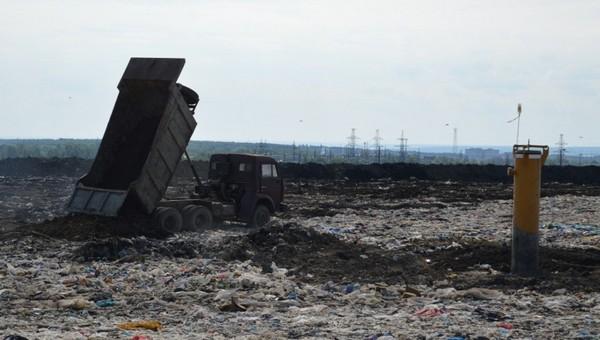 На мусорном полигоне в Серпухове погиб человек