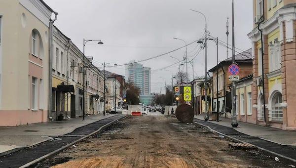 В Серпухове откроют самую маленькую пешеходную улицу в России